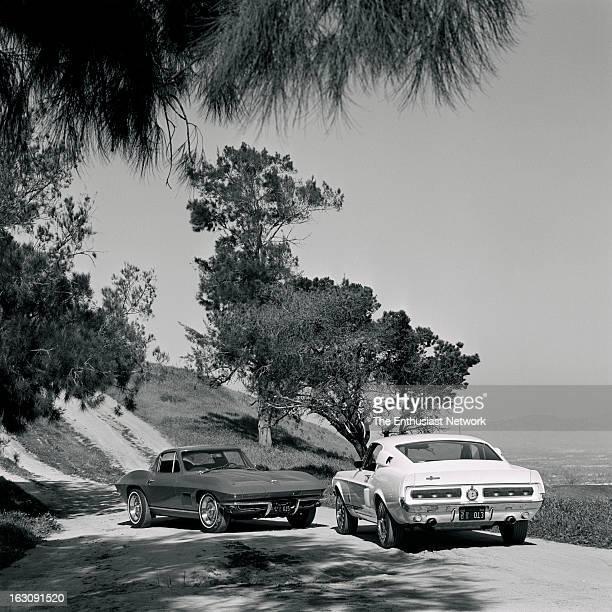Ford Mustang GT500 Chevrolet Corvette Sting Ray Comparison test between the Chevrolet 427 Corvette Sting Ray and the Ford Mustang Shelby GT500 for...