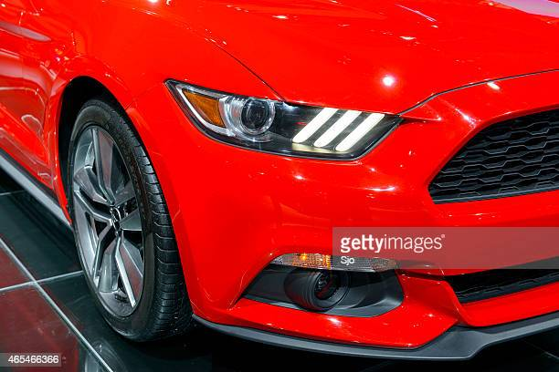 Ford Mustang Muscle Car detail