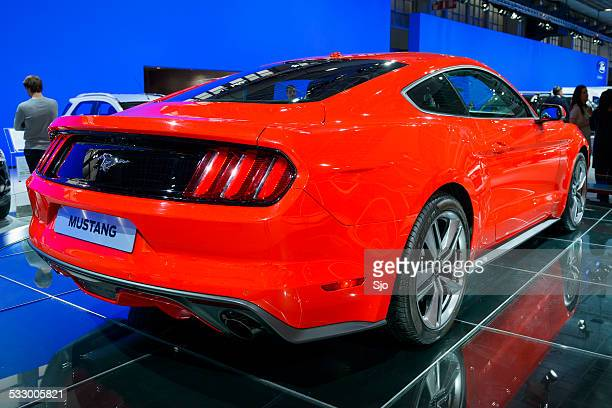 Ford Mustang Muscle Car rear view