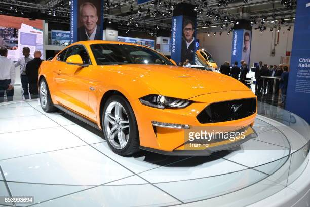 Ford Mustang on the motor show