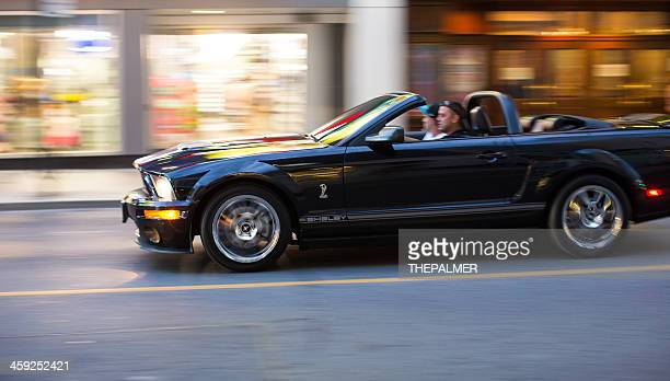 ford mustang shelby cobra - ford shelby mustang cobra photos et images de collection