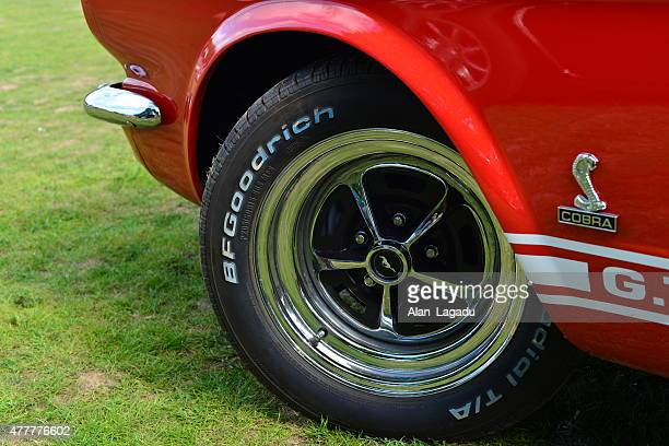 ford mustang shelby gt500 cobra. - ford shelby mustang cobra photos et images de collection