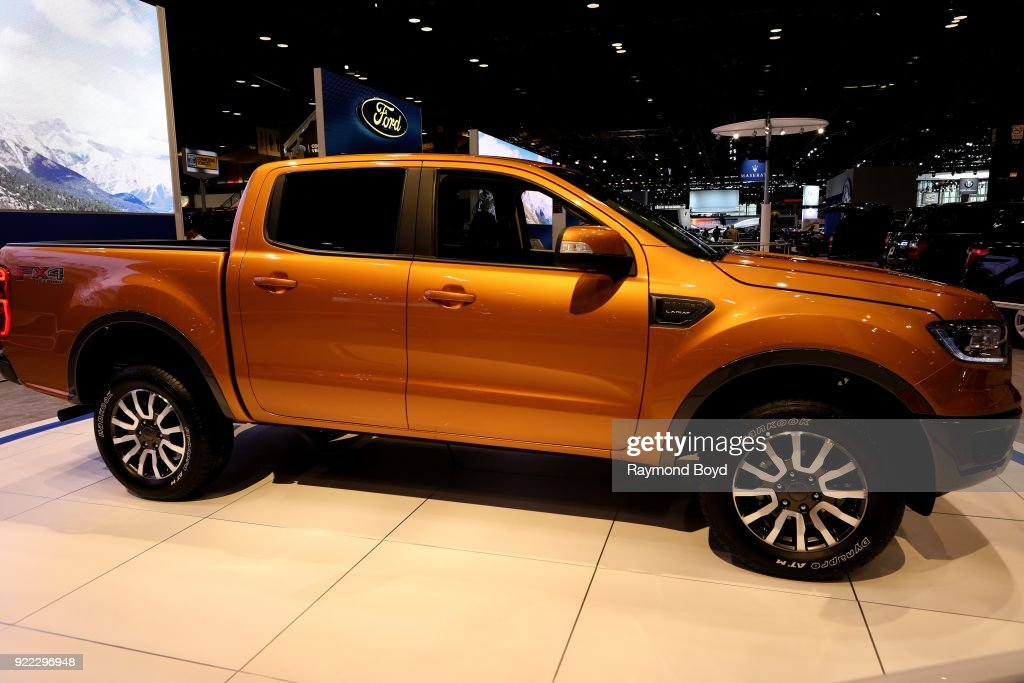 Ford Ranger is on display at the 110th Annual Chicago Auto Show at McCormick Place in Chicago, Illinois on February 9, 2018.