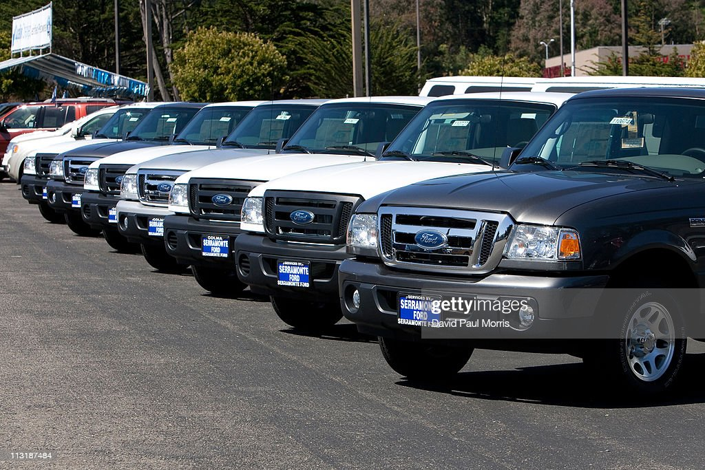 Ford Motor Co. Announces Quarterly Earnings : News Photo