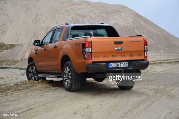 Ford Ranger - popular pick-up in Europe
