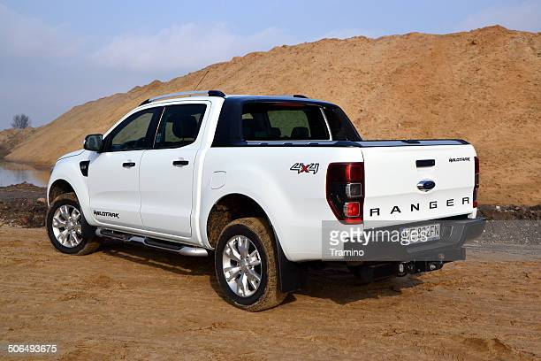Ford Ranger Wildtrack at the offroad