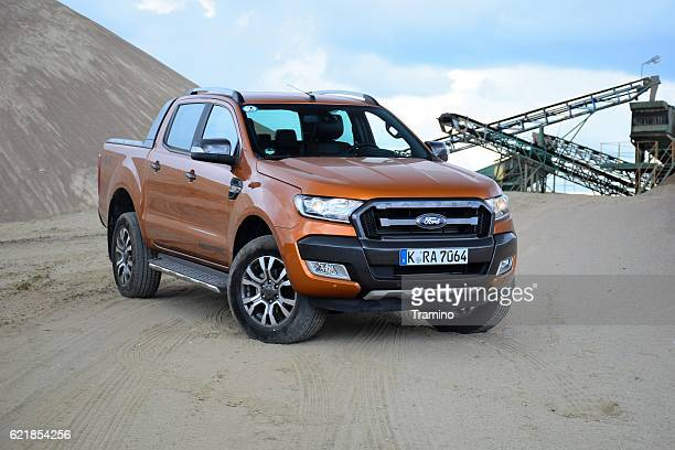 ford ranger wildtrak - ford motor company stock pictures, royalty-free photos & images