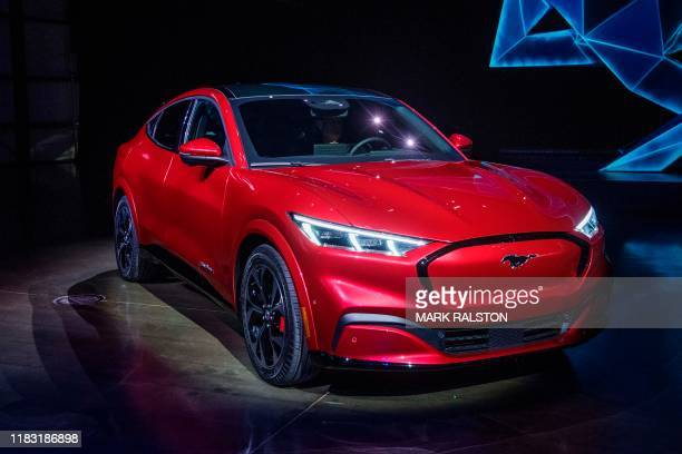 Ford reveals its first massmarket electric car the Mustang MachE which is an allelectric vehicle that bears the name of the companys iconic muscle...