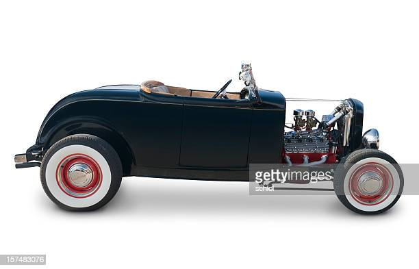 ford roadster from 1932 - hot rod car stock photos and pictures