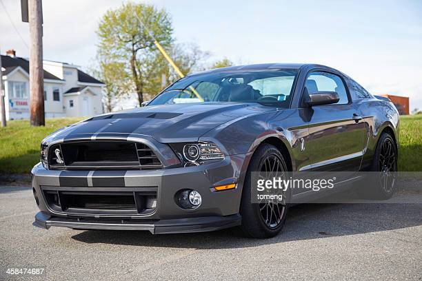 ford shelby gt500 - ford mustang stock photos and pictures