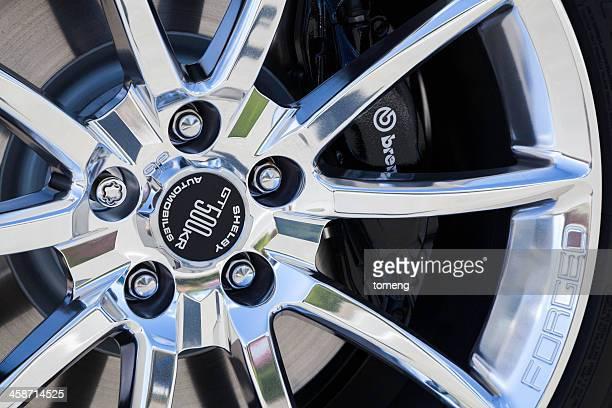 Ford Shelby GT500KR rueda