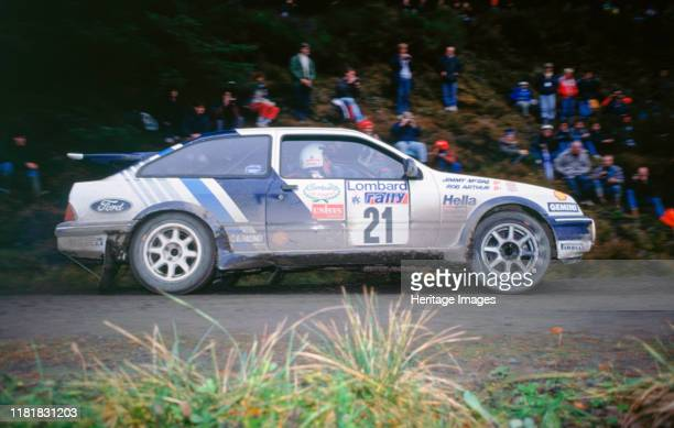 Ford Sierra RS Cosworth Jimmy McRae 1989 RAC Rally Creator Unknown