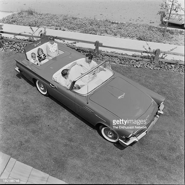 Ford Thunderbird Rumble Seat Convert the trunk compartment of your TBird to a seat that fits two in relative comfort