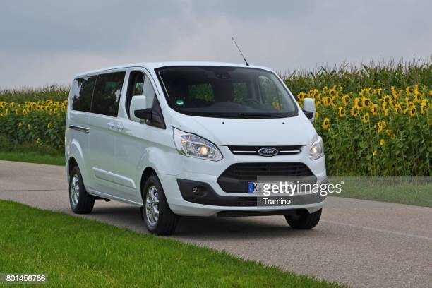 Ford Tourneo Custom on the road
