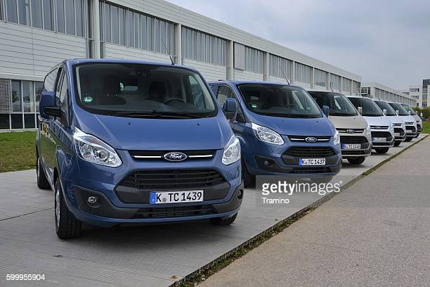 Ford Transit Custom on the parking