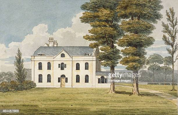 Fordhook House in Ealing London circa 1800 The house was home to the writer Henry Fielding in the mid Eighteenth Century In the early Nineteenth...