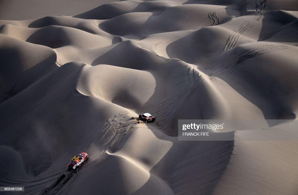 TOPSHOT-AUTO-MOTO-RALLY-DAKAR-STAGE5 : News Photo
