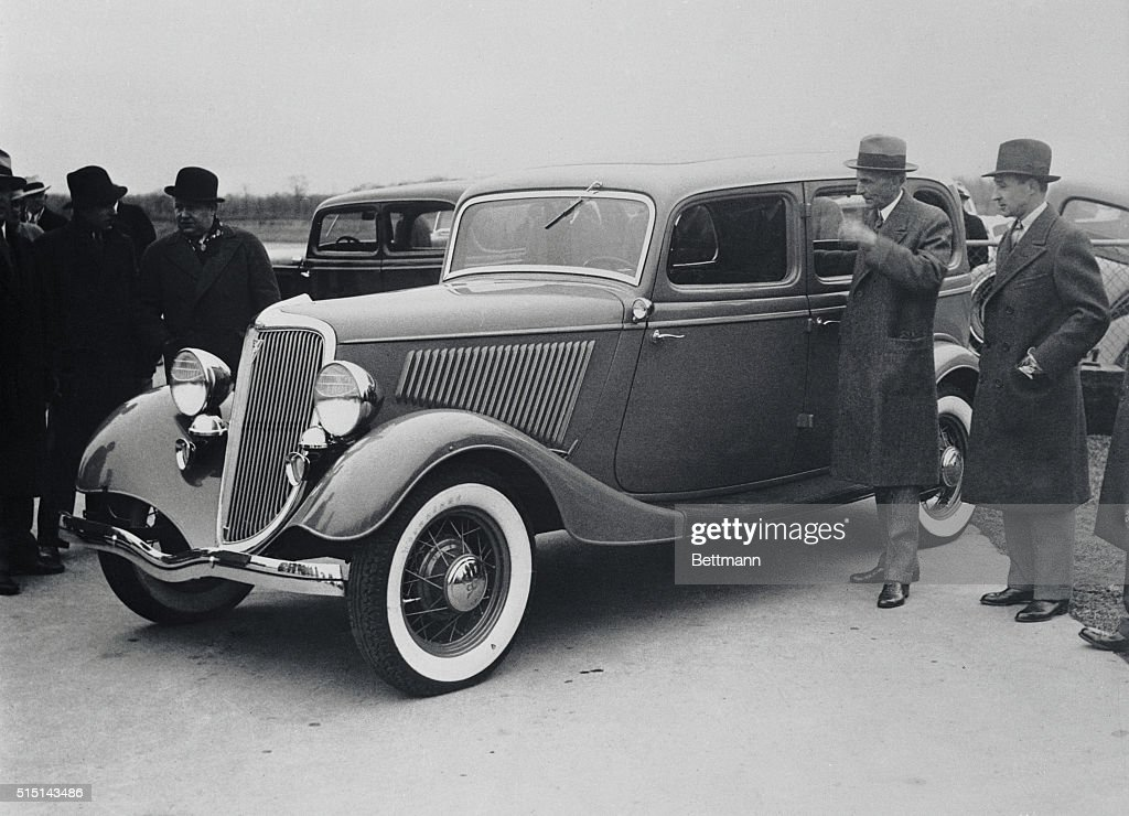 Fords New Car Makes Debut Here Is The New Model Ford VEight - Henry ford car show