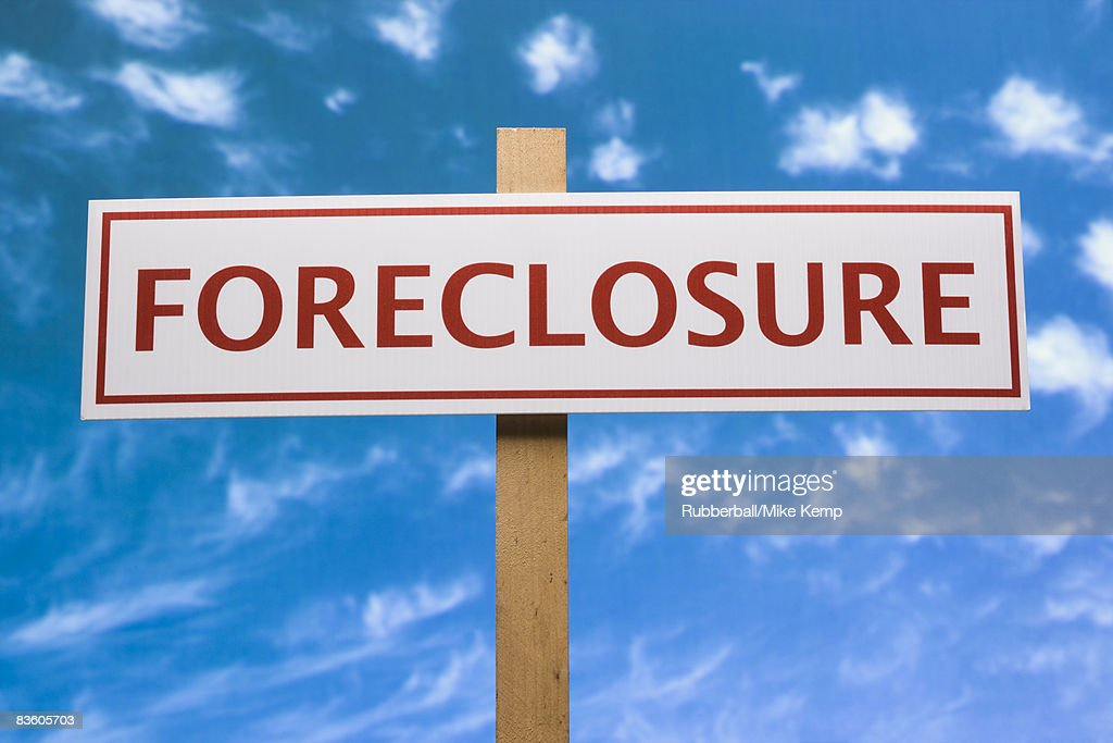 foreclosure signs : Stock Photo