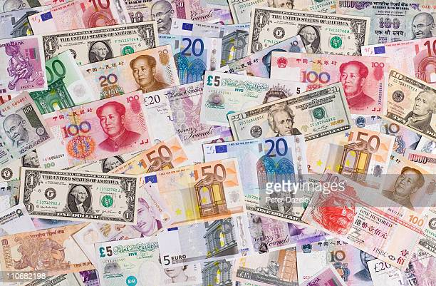 Foreign currency bank notes