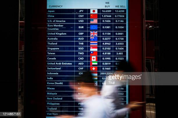 foreign currency exchange monitor - currency exchange stock pictures, royalty-free photos & images