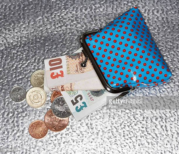 Foreign Currency Inside a Wallet