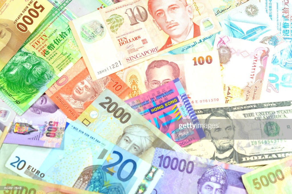 Foreign Currency High Res Stock Photo