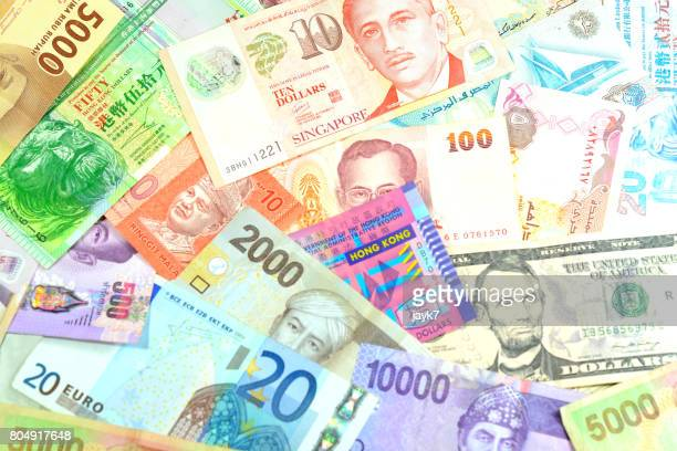 Currency Exchange Stock Pictures