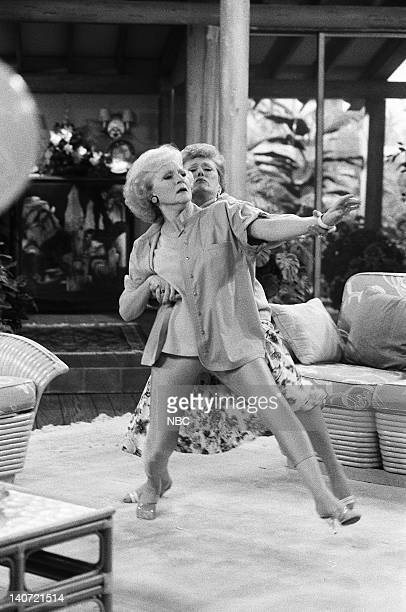 """Foreign Exchange"""" Episode 24 -- Pictured: Betty White as Rose Nylund, Rue McClanahan as Blanche Devereaux. Original air date: 6th May 1989. Photo by:..."""
