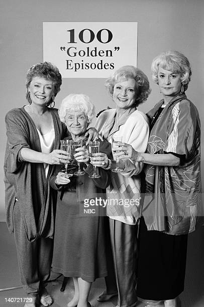 GIRLS Foreign Exchange Episode 24 Pictured Rue McClanahan as Blanche Devereaux Estelle Getty as Sophia Petrillo Bea Arthur as Dorothy Petrillo...