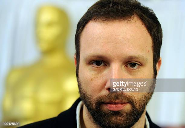 Foreign Language Film Awards Director Greece's Yorgos Lanthimos poses for photographers on February 25 2011 in Hollywood California The Academy...