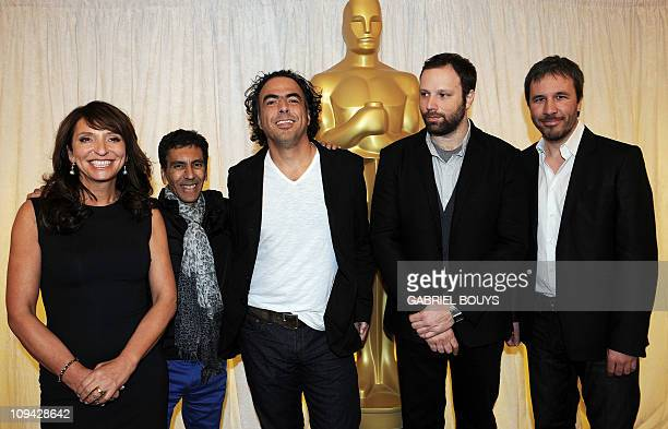 Foreign Language Film Awards Directors Denmark's Susanne Bier Algeria's Rachid Bouchared Mexico's Alejandro Gonzales Inarritu Greece's Yorgos...