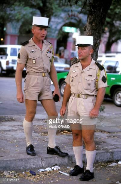 Foreign legion 13th half brigade in Djibouti in June 1993 Djibouti the city