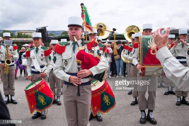 foreign legion - uniform cap stock pictures, royalty-free photos & images