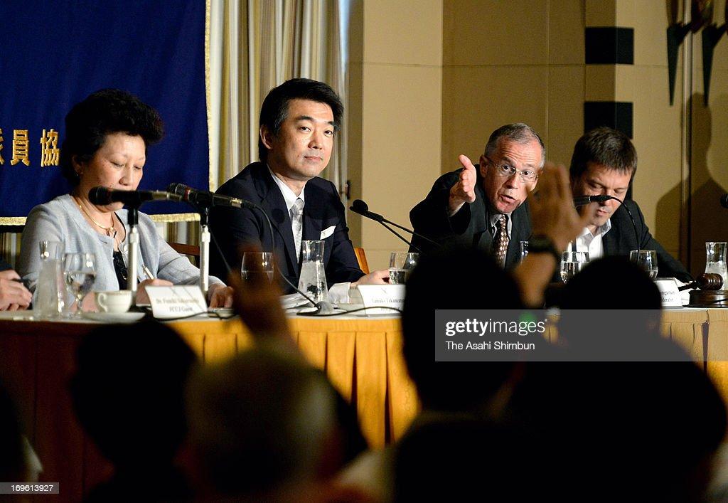 Osaka Mayor Hashimoto Press Conference