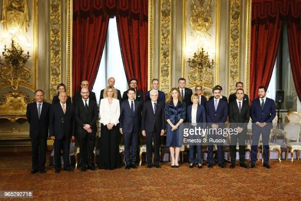 Foreign Minister Enzo Moavero Milanesi European Affairs Minister Paolo Savona Health Minister Giulia Grillo Family and the Disabled Minister Lorenzo...