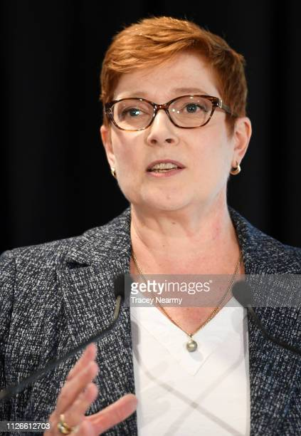 Foreign Minister Marise Payne speaks at the Launch of Sports Diplomacy 2030 & Australia's Signing of the Convention on the Manipulation of Sports...