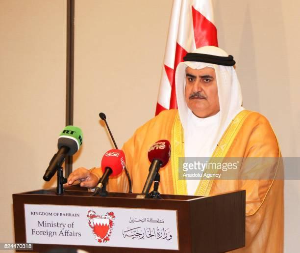 Foreign Minister of Bahrain Khalid bin Ahmed Al Khalifa Minister of Foreign Affairs of the United Arab Emirates Abdullah bin Zayed Al Nahyan Saudi...