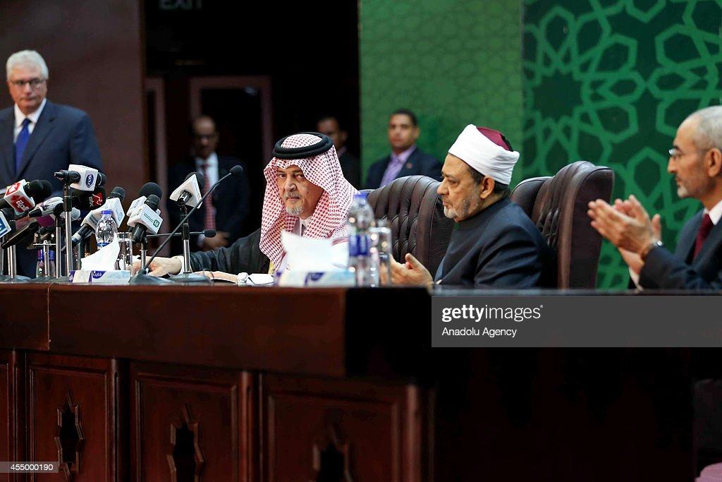 Saudi FM Saud Al Faisal in Egypt : News Photo
