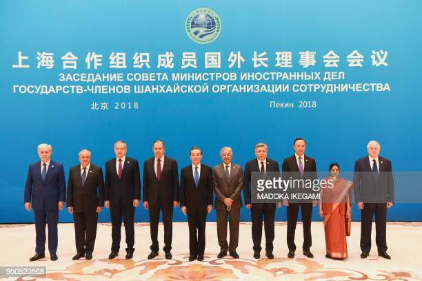 Foreign ministers and officials SCO SecretaryGeneral Rashid Alimov Uzbekistan's Foreign Minister Abdulaziz Kamilov Tajikistan's Foreign Minister...