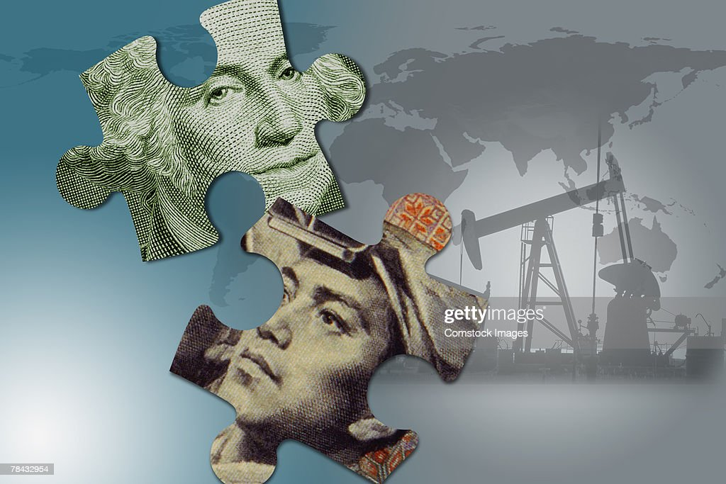 Foreign oil : Stockfoto