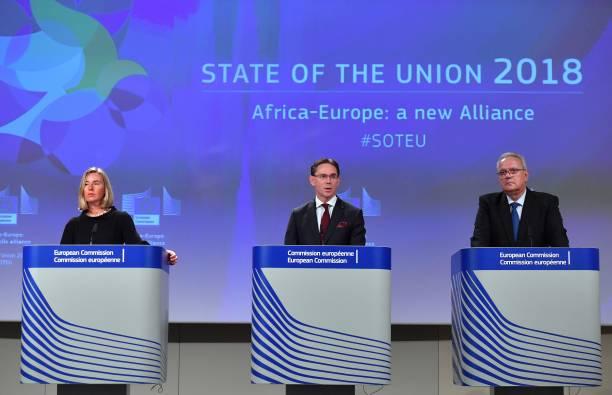 EU Foreign policy chief Federica Mogherini, EU Commission