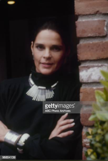 """Foreign Relations"""" which aired on January 23, 1985. ALI MACGRAW"""