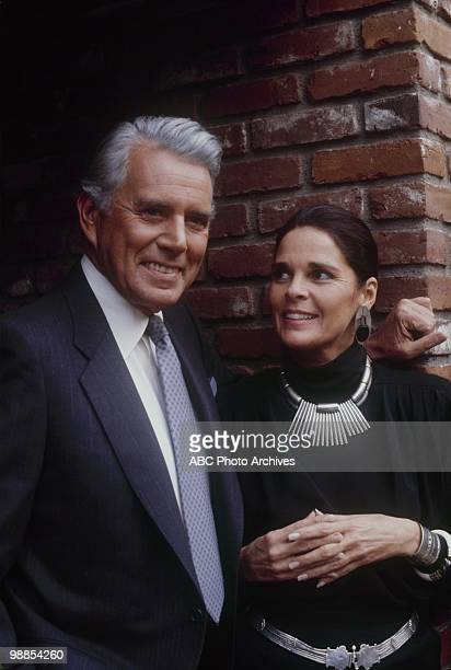 """Foreign Relations"""" which aired on January 23, 1985. JOHN FORSYTHE;ALI MACGRAW"""