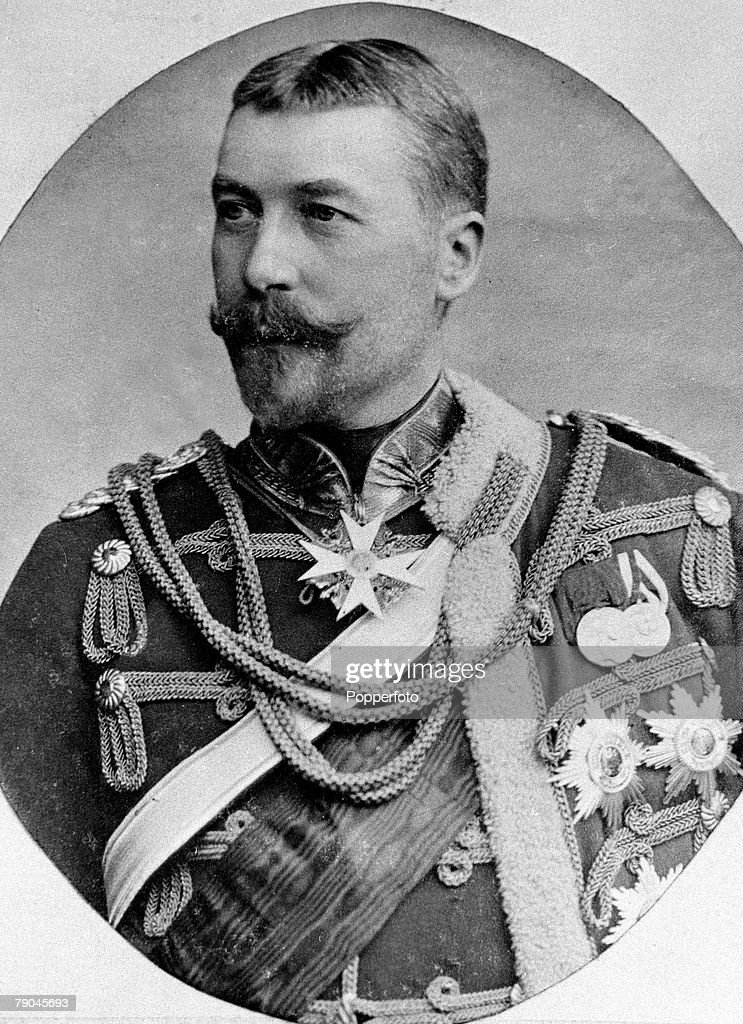 Foreign Royalty, Ernst Gunther, Duke of Schleswig- Holstein, born 1863