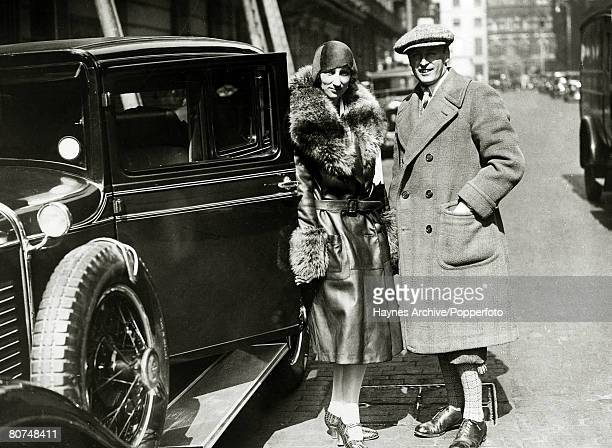 1929 Crown Prince Olav of Norway pictured with Princess Martha in London at the start of their honeymoon tour Crown Prince Olav succeeded his father...