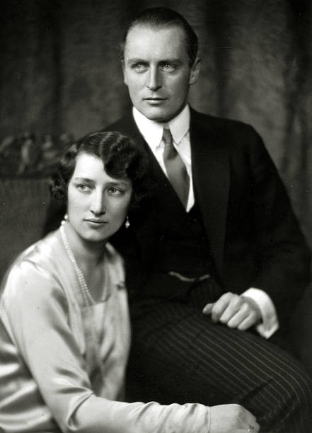 Circa 1929 Crown Prince Olav Olaf Of Norway With Princess Martha Pictured Close