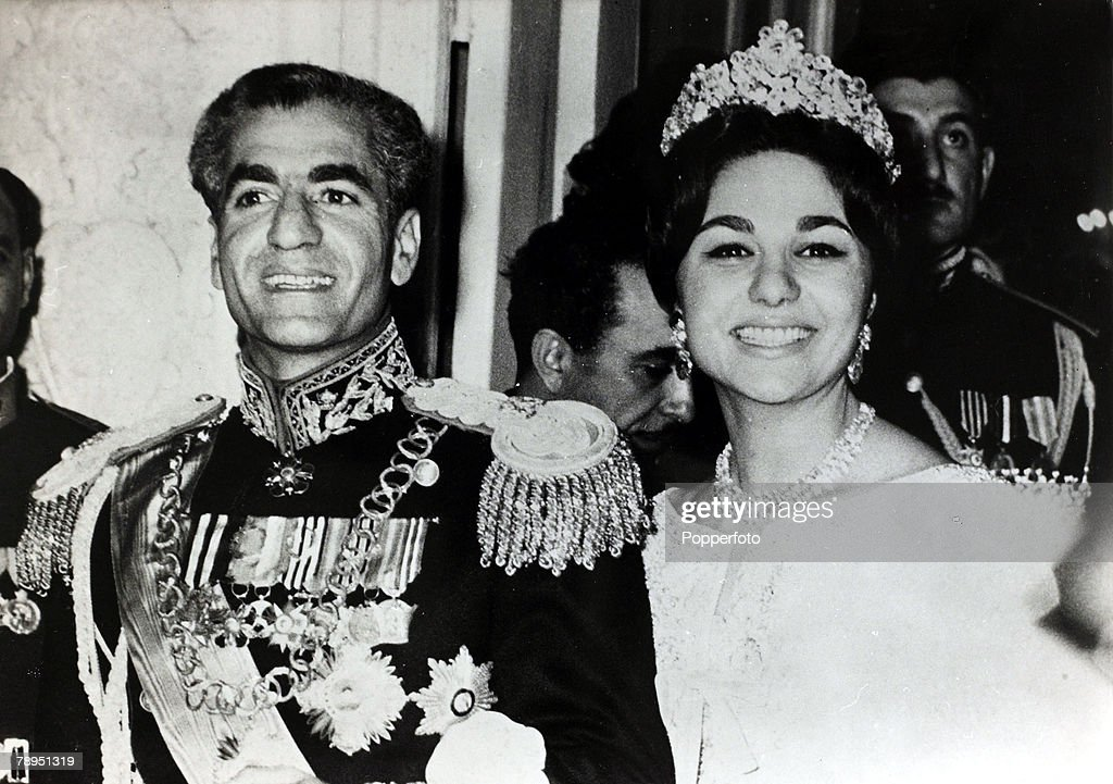 Foreign Royalty. Personalities. pic: circa 1960. The Shah of Iran (Persia) with Queen Farah Diba.The Shah of Iran (1919-1980) succeeded his father in 1941, but was to leave Iran in 1979, after much criticism, with a revolutionary government taking over. : News Photo