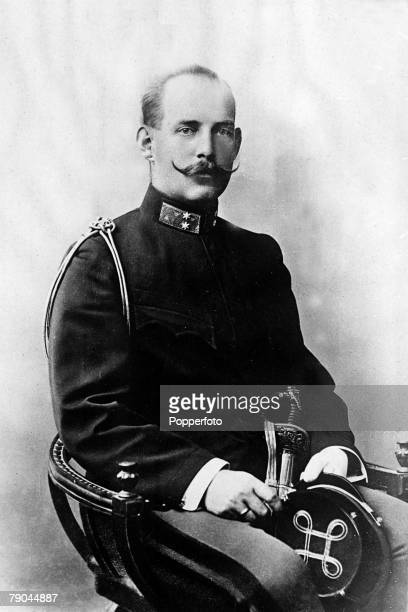 Circa 1900's, King Constantine I of Greece, who was the husband of Queen Sophie