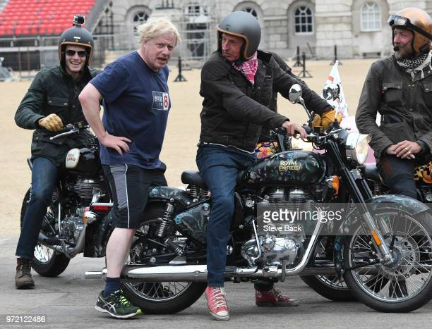 Foreign Secretary Boris Johnson MP out on an early morning Jog ahead of the weekly Cabinet meeting and the later vote in the House of Commons to give...